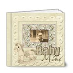 Old Fashioned Baby Mine 20 pg 6 x 6 deluxe Album Boy or Girl - 6x6 Deluxe Photo Book (20 pages)