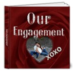 Our Engagement 8x8 Deluxe Photo Book - 8x8 Deluxe Photo Book (20 pages)