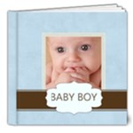 BABY BOY - 8x8 Deluxe Photo Book (20 pages)
