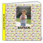 nathan 4 yrs old - 8x8 Deluxe Photo Book (20 pages)