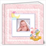 Blanky Bunny Baby Girl 12 x 12 inch Book 20 pages - 12x12 Photo Book (20 pages)