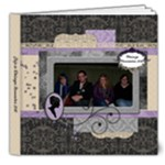 Royal Silhouette Deluxe 8x8 20 page book - 8x8 Deluxe Photo Book (20 pages)