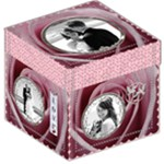 Pink Love 12  Storage Stool - Storage Stool 12