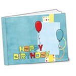 Happy Birthday Deluxe 7x5 - 7x5 Deluxe Photo Book (20 pages)
