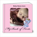 Book of First s  6x6 A, 20 pages - 6x6 Photo Book (20 pages)