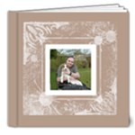Coffee & Cream Deluxe All Occasion 20 page album 8 x 8 - 8x8 Deluxe Photo Book (20 pages)