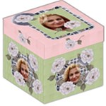 My cottage Rose Storage Stool Box - Storage Stool 12