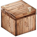 wood box stool - Storage Stool 12