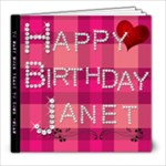 BDAYY - 8x8 Photo Book (20 pages)