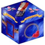 Patriotic storage stool - Storage Stool 12