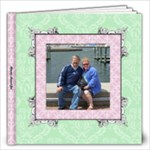 Fancy Pink & Green Album 12x12 20 pages - 12x12 Photo Book (20 pages)