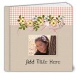 8x8 DELUXE Pink and Brown- Any Occasion Book - 8x8 Deluxe Photo Book (20 pages)