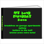 my 30th - 9x7 Photo Book (20 pages)