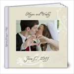 Megan and Wesleys wedding - 8x8 Photo Book (20 pages)
