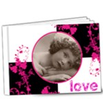 Pinkadink Deluxe  9 x 7 20 Page Book - 9x7 Deluxe Photo Book (20 pages)