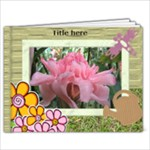 My Family Garden Book 9x7 (20 Pages) - 9x7 Photo Book (20 pages)