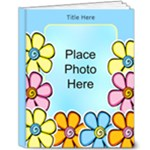 Hearts and Flowers 8x10 Deluxe (20 Pages) - 8x10 Deluxe Photo Book (20 pages)