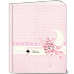 8x10 Deluxe Photo Book - Precious Baby Girl - 8x10 Deluxe Photo Book (20 pages)