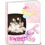Sweet Nothings Baby Girl Deluxe 10 x 8 20 Page Album - 8x10 Deluxe Photo Book (20 pages)