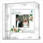 Dove 8 x 8 100 page wedding keepsake album  - 8x8 Photo Book (100 pages)