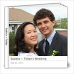 Eudora   Felipe - 8x8 Photo Book (20 pages)