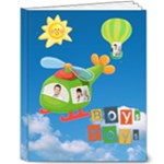 Boys Toys Deluxe 10 x 8 Book - 8x10 Deluxe Photo Book (20 pages)