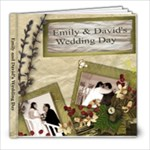 David and Emily - 8x8 Photo Book (20 pages)