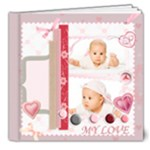 baby Love - 8x8 Deluxe Photo Book (20 pages)