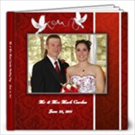 Mark & Maria Wedding - 12x12 Photo Book (40 pages)