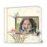 Flower Girl Pattern - 6x6 Deluxe Photo Book (20 pages)