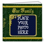 Our Family 8x8 - 8x8 Deluxe Photo Book (20 pages)