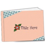 9x7 DELUXE- Flower Girl - 9x7 Deluxe Photo Book (20 pages)