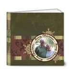 Merry Christmas DELUXE 6x6 20 Page Book - 6x6 Deluxe Photo Book (20 pages)