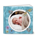 Baby Blue Deluxe 6x6 Brag Book - 6x6 Deluxe Photo Book (20 pages)