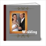 weddng - 6x6 Photo Book (20 pages)