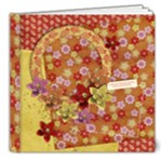 8x8 Deluxe Floral/Oriental Album - 8x8 Deluxe Photo Book (20 pages)