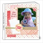 Ava Grace Cordes - book 3 - 8x8 Photo Book (20 pages)