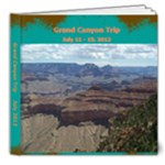 Grand Canyon Square - 8x8 Deluxe Photo Book (20 pages)