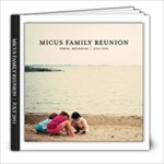 Micus Family Reunion - 8x8 Photo Book (20 pages)