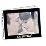 wedding album ryan and erin - 7x5 Deluxe Photo Book (20 pages)