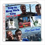 Trip to New York Jul 2011 - 8x8 Photo Book (30 pages)