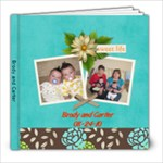 brody and carter 2011 - 8x8 Photo Book (30 pages)