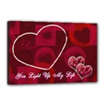 You Light Up My Life 18x12 stretched Canvas - Canvas 18  x 12  (Stretched)