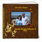 June 2011 - 8x8 Photo Book (30 pages)