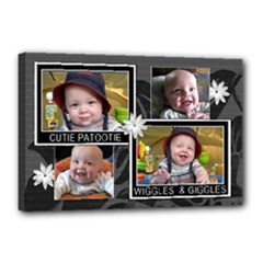 Cutie Patootie 18x12 Stretched canvas - Canvas 18  x 12  (Stretched)