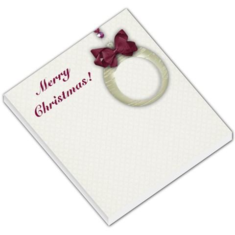 Christmas Ornament Small Memo Pad By Mikki   Small Memo Pads   Xybzplv0lxfa   Www Artscow Com
