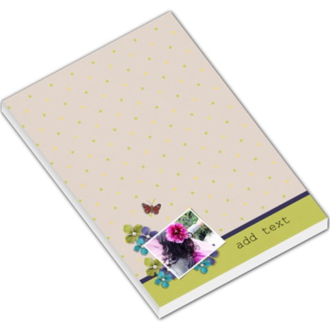 Large Memo Pads  Green And Violet Theme By Jennyl   Large Memo Pads   Zup2opfodw10   Www Artscow Com