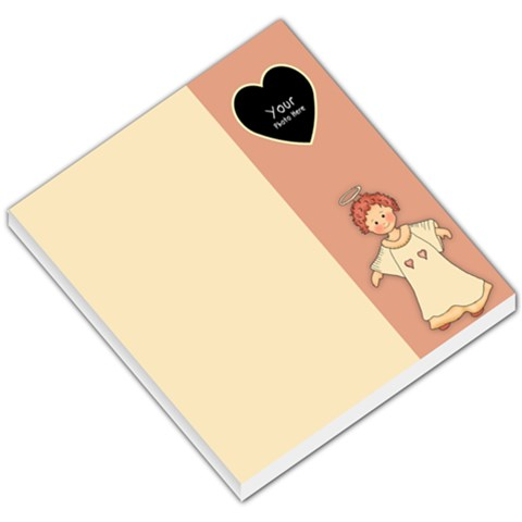 Angel Small Memo By Lillyskite   Small Memo Pads   Q63xeo859tid   Www Artscow Com