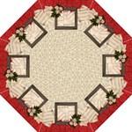 Red/Cream/Holiday-folding umbrella