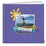 8x8 DELUXE: Summer Escapade - 8x8 Deluxe Photo Book (20 pages)